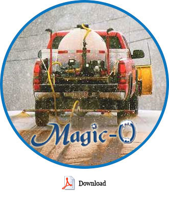Magic Salt is the most efficient and cost-effective method of snow removal with minimal environmental damage.