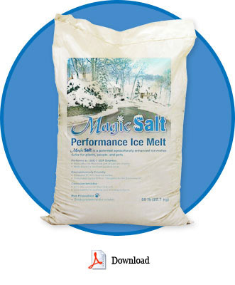 Magic Salt Is The Only Epa Roved Deicer On Market Safe For Environment